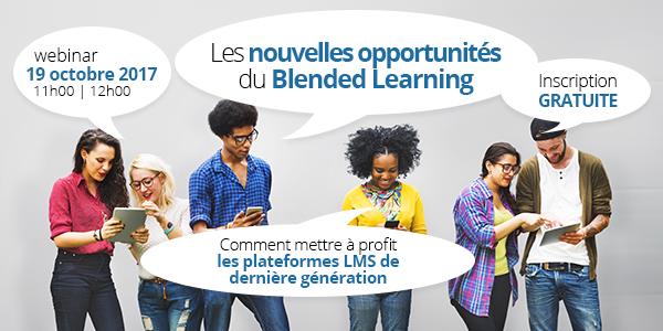 Webinar Féfaur / Callimedia - Les nouvelles opportunités du Blended Learning - 19 octobre 2017